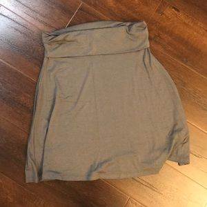 Old Navy grey casual skirt